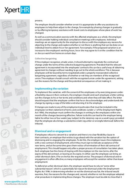 change of working hours letter template for contracts nz how to change the terms of existing employment contracts