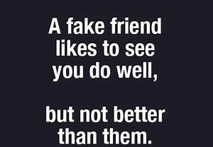 Fake Friends | ... Phony Friend Quotes
