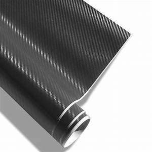 Covering Carbone 3m : carbon folie 152x200cm sort med luftkanaler 3d struktur ~ Voncanada.com Idées de Décoration