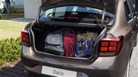 renault logan trunk dacia logan 2017 abmessungen kofferraum und innenraum