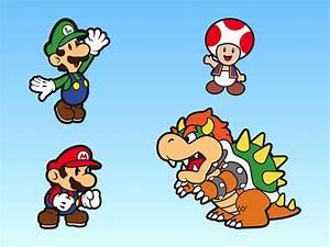 Super Mario Bros Characters Vector Art & Graphics ...