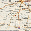 Columbia, Tennessee Area Map & More