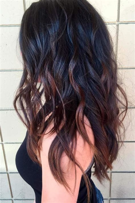 hair styles for longer hair best 25 black hair ombre ideas on 1677