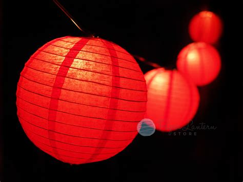 new year paper lantern string light combo ebay