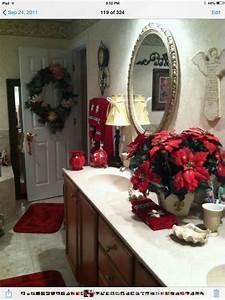 cute bathroom decorating ideas for christmas family With holiday bathroom decorating ideas