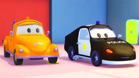 tom  caminhao de reboque   carro de policia na cidade