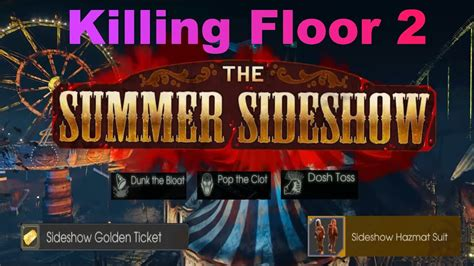 killing floor 2 dunk the bloat killing floor 2 summer sideshow achievements 2017 youtube