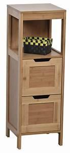 Meuble Salle De Bain Bas : meuble bambou salle de bain id e inspirante pour la conception de la maison ~ Teatrodelosmanantiales.com Idées de Décoration