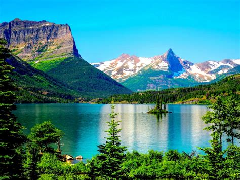 glacier national park desktop background