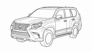 image 2014 lexus gx 460 alleged patent drawing image With lexus land cruiser