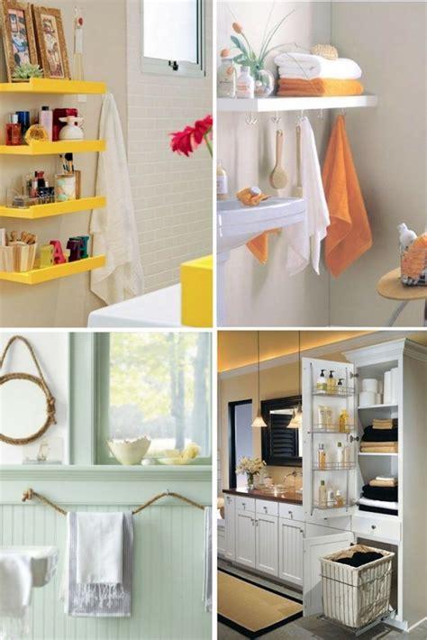 Astuce rangement salle de bain- 15 idées modernes, rétro ...