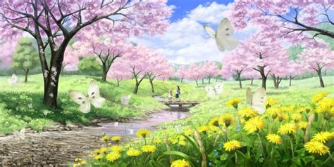 Animated Scenery Hd Wallpapers - animated scenery widescreen wallpaper hd seasons