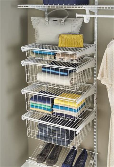 Closetmaid Shelf Track - closetmaid shelftrack 4 drawer kit walmart ca