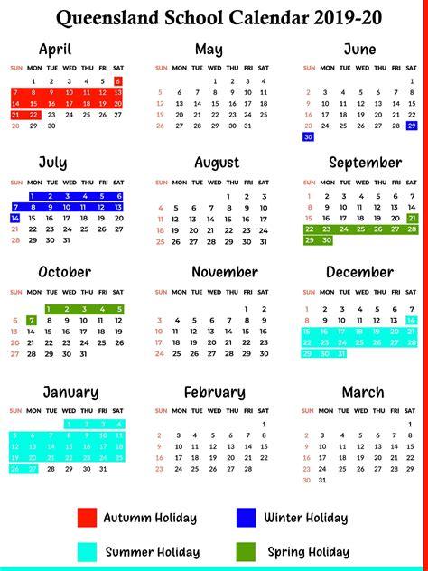 calendar qld education month calendar printable