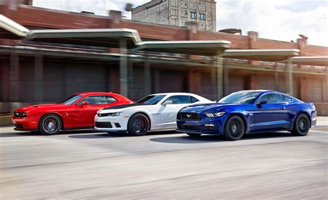 Sales Comparison: Camaro vs Mustang vs Challenger