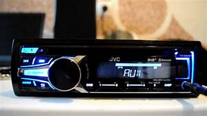 Jvc Kd-db95bt Cd  Mp3 Car Stereo With Front Usb  Aux Input And Built In Bluetooth