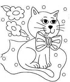 cat coloring pages kitty cat coloring pages free printable pictures