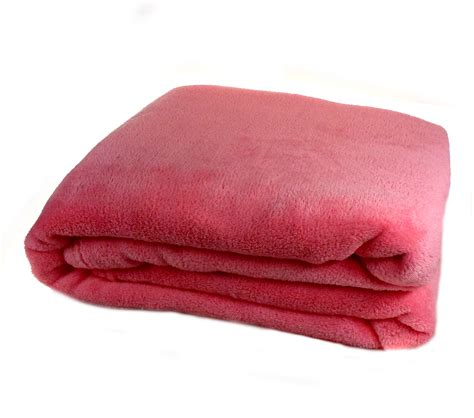 luxury soft cosy coral fleece throw  bed sofa home