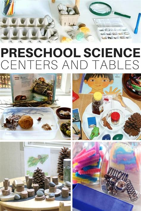 how to set up preschool science centers and discovery tables 330 | Preschool Science Centers 1
