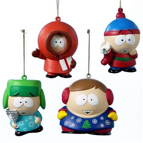 holiday ornaments south park archives cartman stan