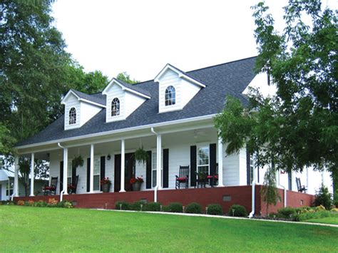 one house plans with porch country house plans with porches one country house