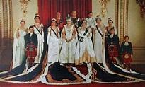 1953 Coronation of Queen Elizabeth II. | Royal family ...