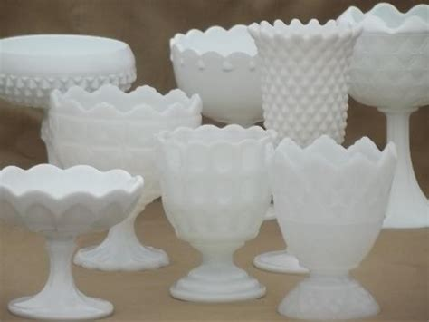 what is milk glass the vintage chateau marvelous milk glass