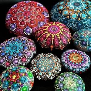Steine Bemalen Und Mandala Bilder Entstehen Lassen 42