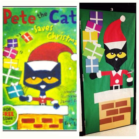 pete the cat classroom themes quot pete the cat saves quot classroom door that i made