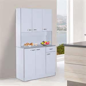 free standing kitchen cupboard large cart modern storage cabinet pantry new ebay