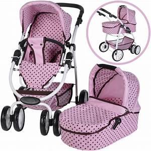 Puppenwagen 2 In 1 : knorrtoys puppenwagen coco 2in1 pink mokka dots bei ~ Eleganceandgraceweddings.com Haus und Dekorationen