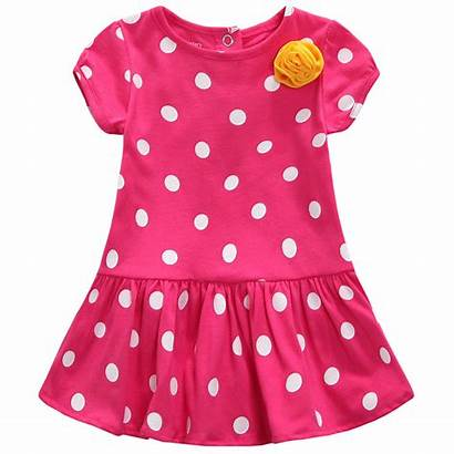 Clipart Frock Summer Dresses Clip Pink Cliparts