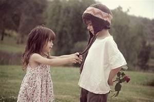 beautiful, boy, child, children, couple - image #183886 on ...
