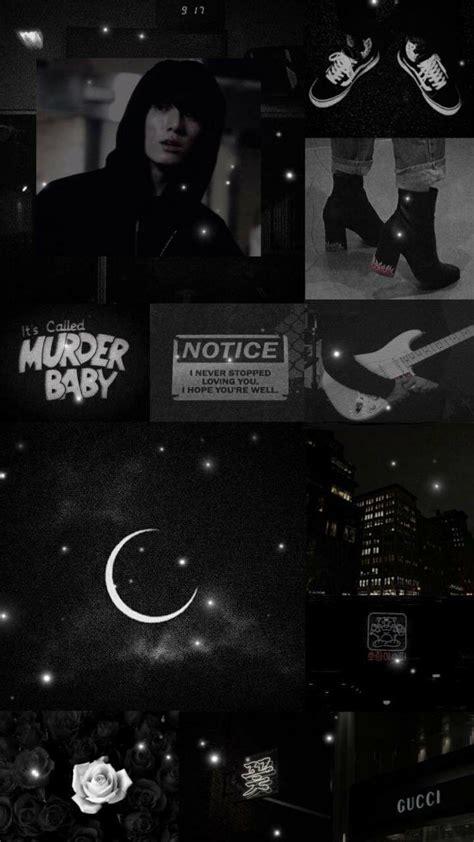 bts black aesthetic wallpapers