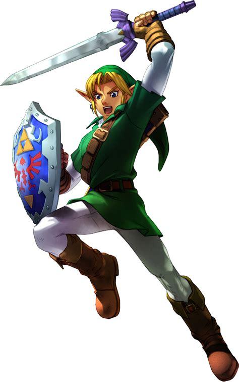 Link Ocarina Of Time Legend Of Zelda Expanded Universe
