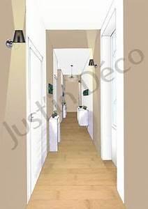 peinture couloir deco pinterest With attractive quelle couleur de peinture pour un couloir 3 et un couloir original de plus et un