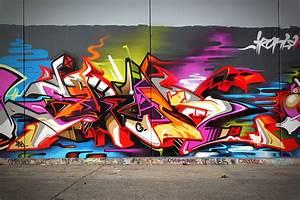 Komplex Graphix by Andrew Bourke Graffiti ART - Komplex