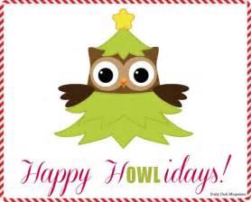 Happy Christmas Owls