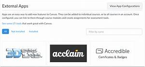 How do I add an external app in a course? | Canvas LMS ...