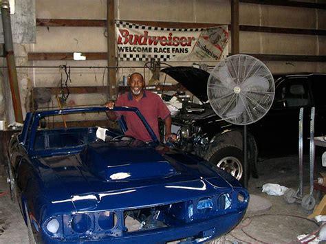 david grahams  triumph stag  ford  engine