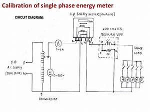 Wiring Diagram Watt Hour Meter