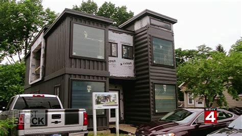 Shipping Containers   Homes  Detroit Youtube