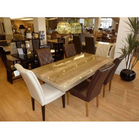 granite top kitchen table set brown and weight granite top dining table set rs 75000