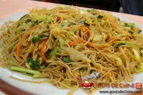 cuisiner des pates chinoises recette nouilles sautées végétariennes circulaire en ligne