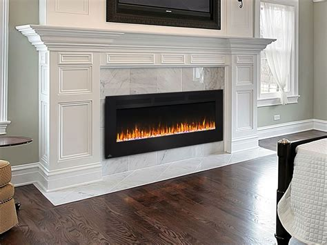 napoleon   allure wall mount electric fireplace