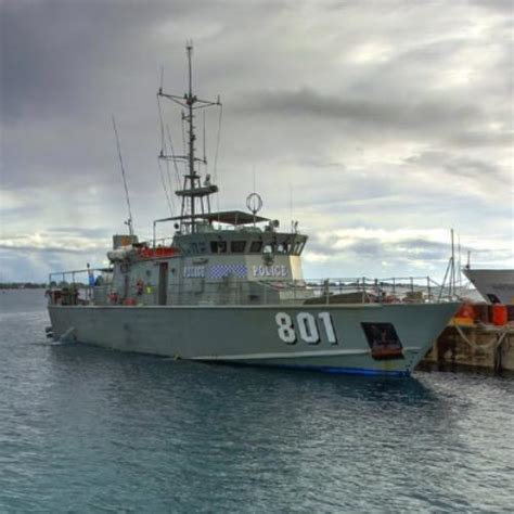 Pacific Class Patrol Boat by Pacific Class Patrol Boat On Tuvalu In Fakaifou