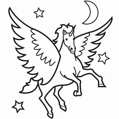 Unicorn Outline Clipart Clipartmag