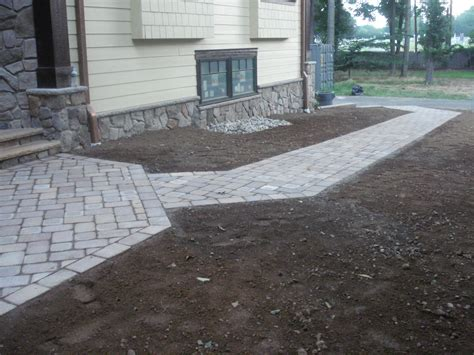 paver walkway and patio bill laflesh landscaping