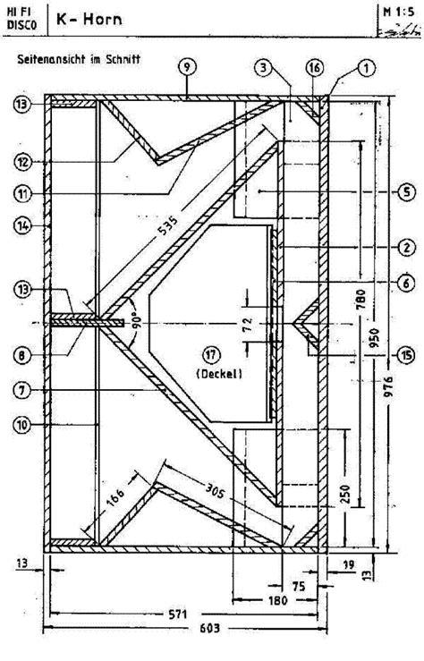 Klipsch Horn Speaker Plans | Mungfali