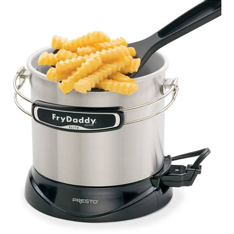fryer fry deep daddy presto elite frydaddy electric walmart fried chicken appliances silver fryers amazon cup stars checker inventory mart